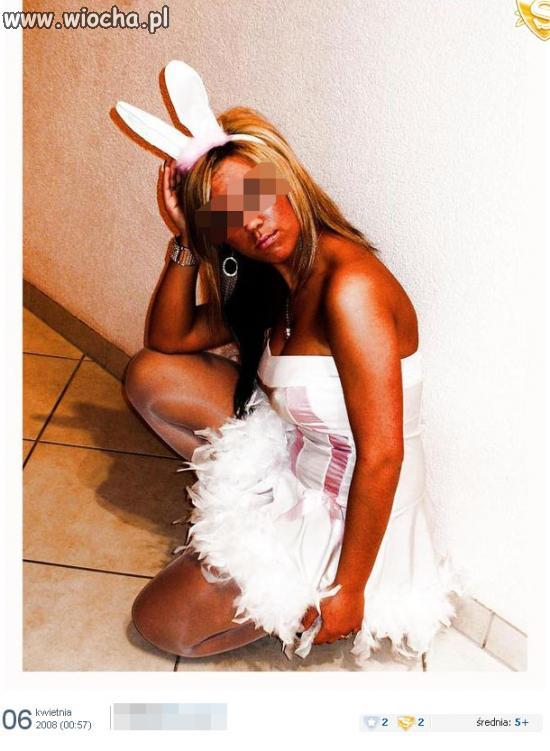 Prawie jak króliczek playboy'a