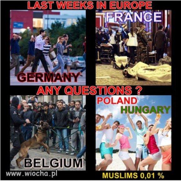 Rozwinięta i tolerancyjna Zachodnia Europa