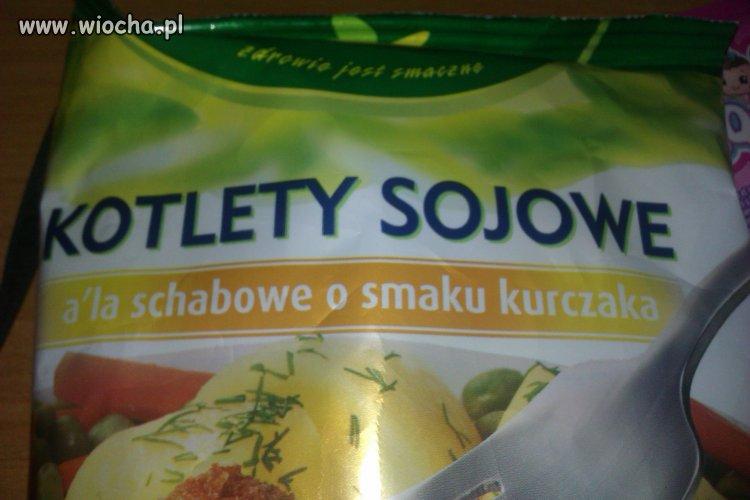 Kotlety Sojowe a'la schabowe o smaku kurczaka
