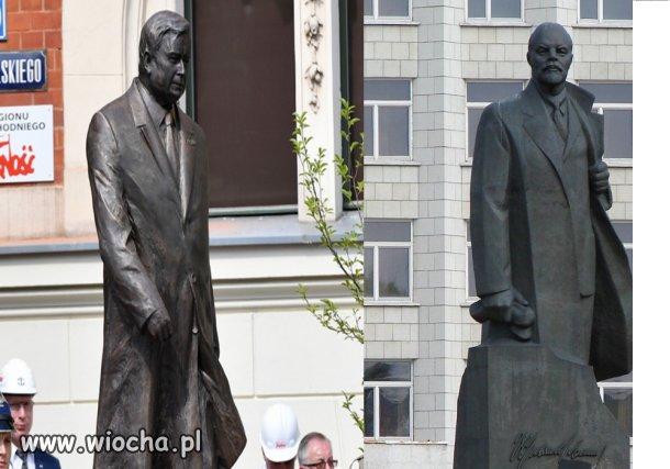 Znajomy coś ten pomnik w Szczecinie dla PiS-u