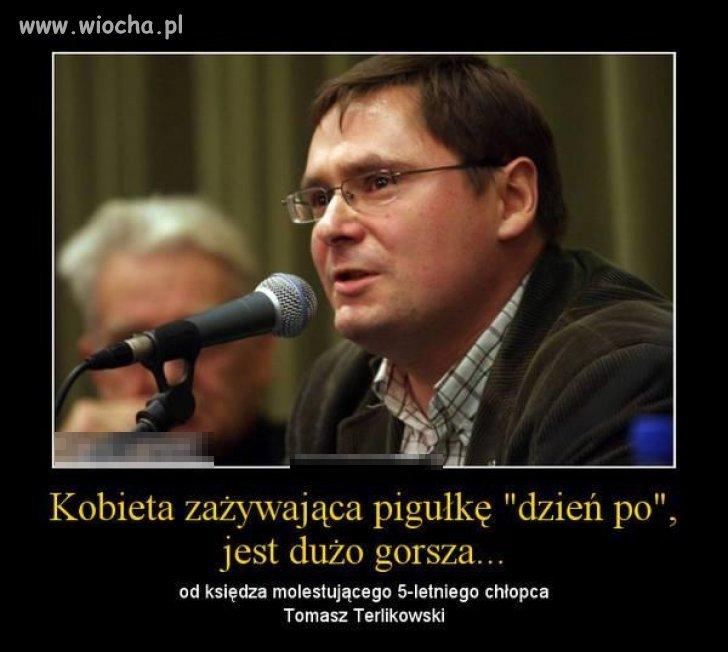 To są słowa Terlikowskiego.