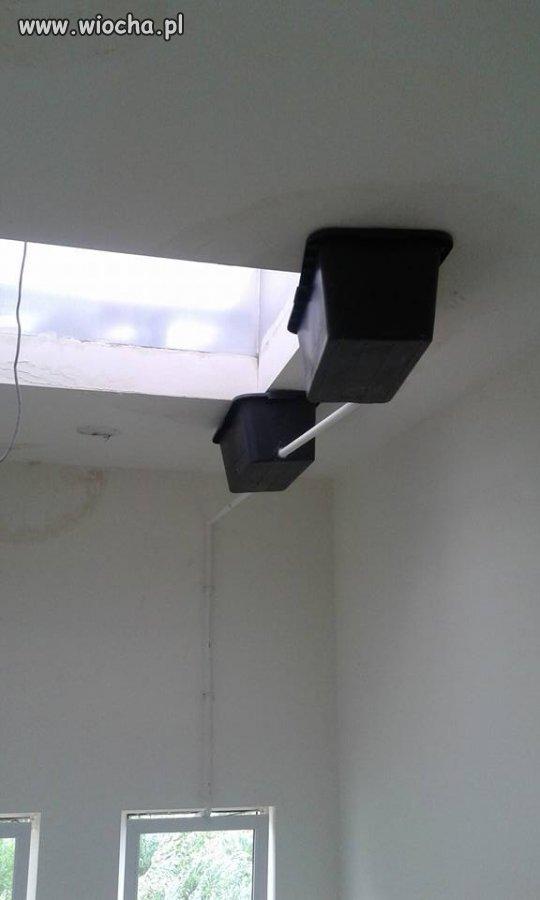 Naprawa przeciekającego dachu