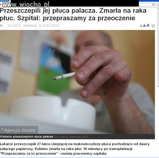 WcaLe NIE Trzeba palić