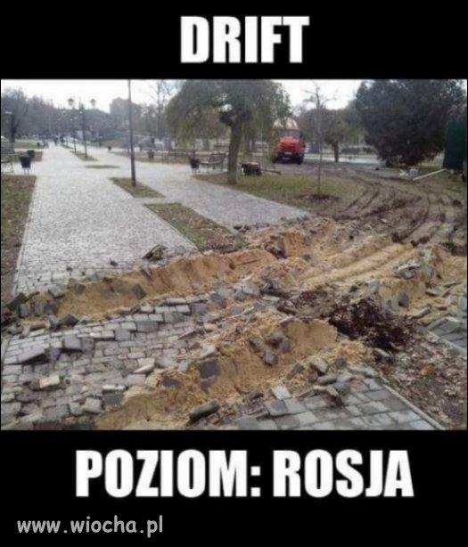 Drift - poziom Rosja