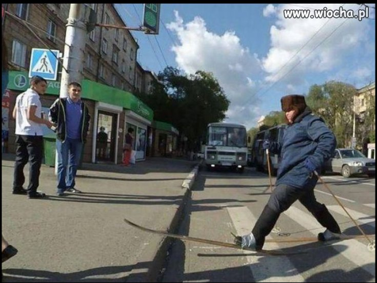 Russian walking