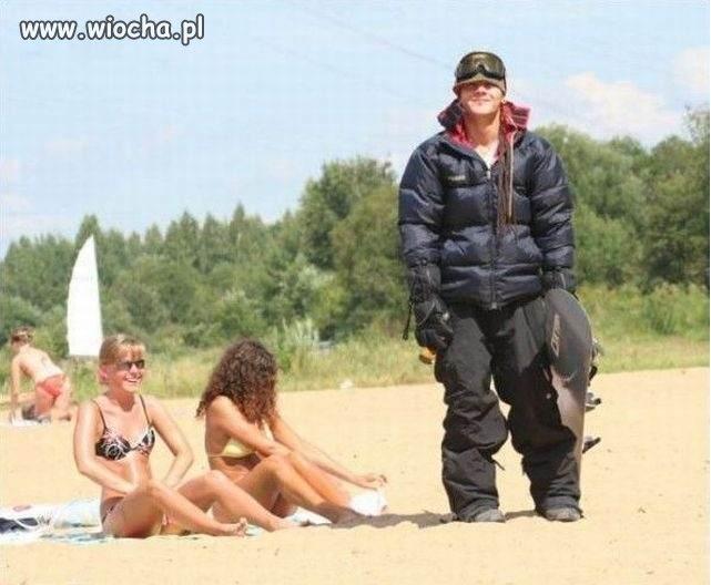 Idealny strój na plażę,