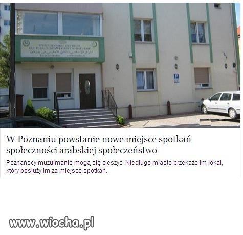 W Poznaniu powstaje centrum krzewienia Terroryzmu.