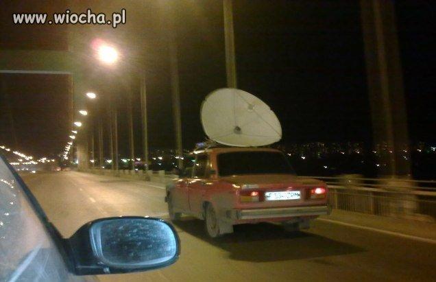 I ty się pochwal satelitą w samochodzie