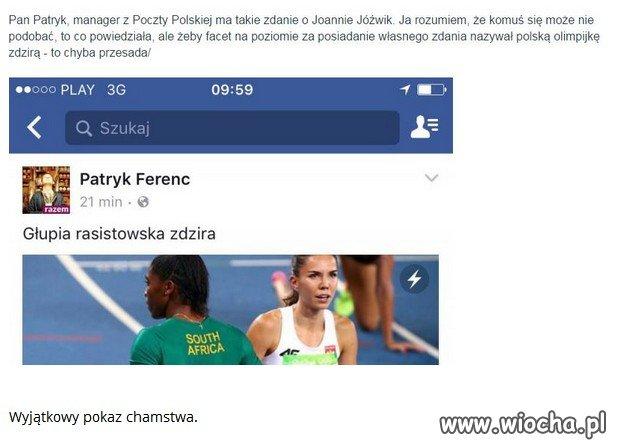 Opluć polską Olimpijkę