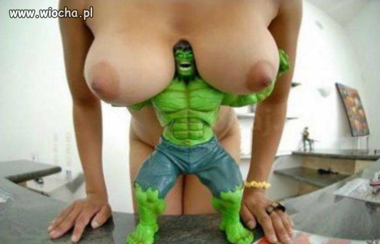 Słit focia z Hulkiem