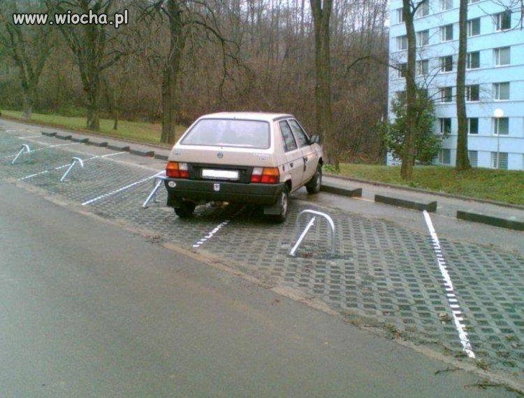 Jak ja nie mog� tu parkowa�?