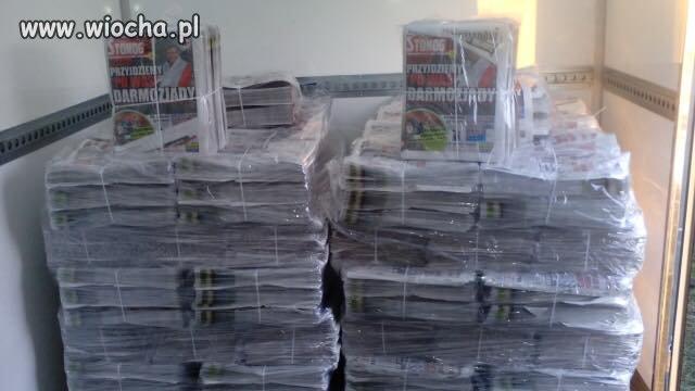 Zbigniew Stonoga wydał gazetę