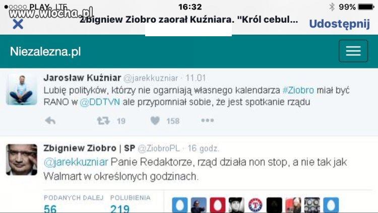 Zbigniew Ziobro versus