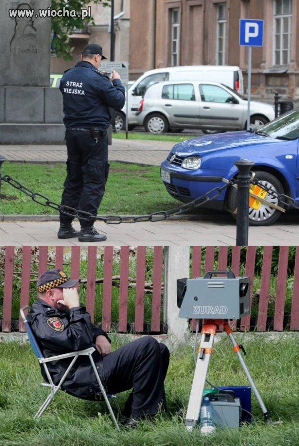 Codziennie widzę jak karzą kierowców!