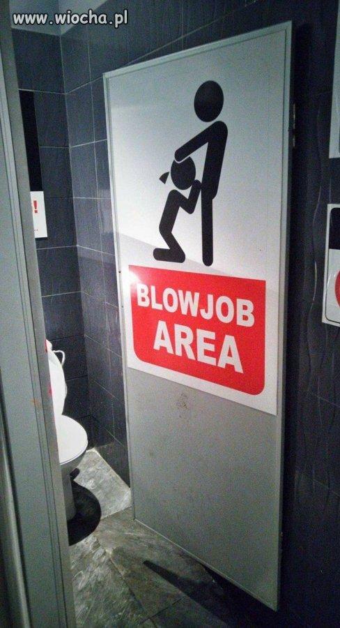 Toaleta dla zakochanych