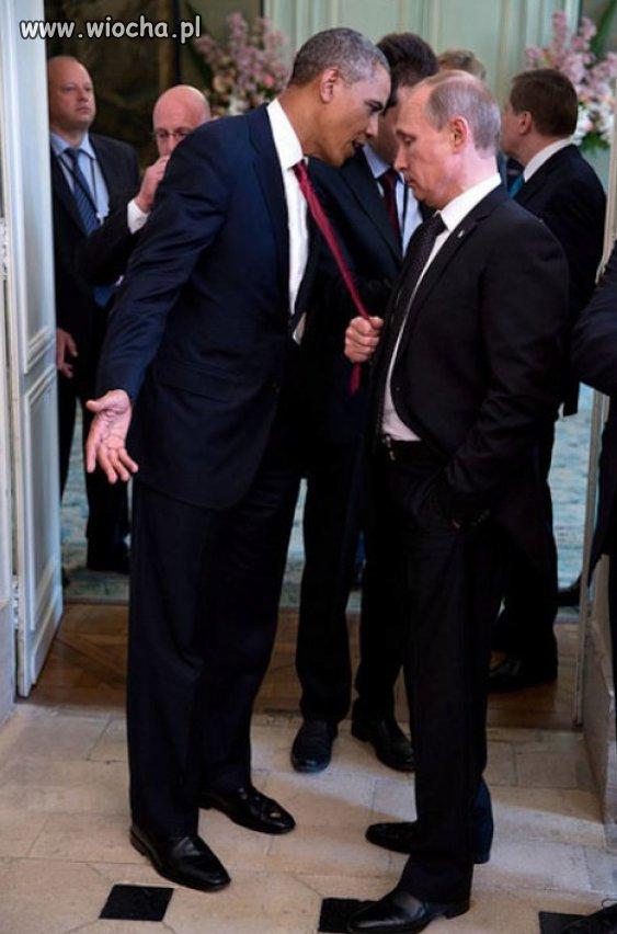 Putin vs Obama.