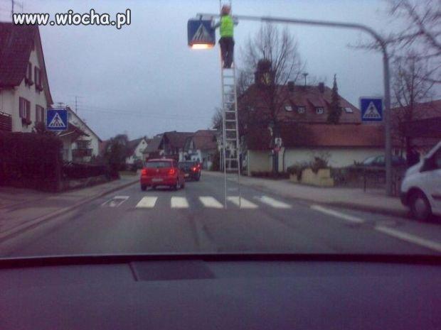 Jak zawsze drogowcy zaskakują