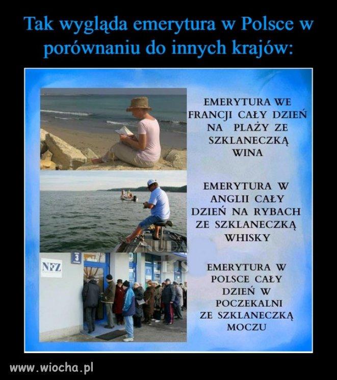 A pamiętacie jak Jaruś obiecywał polskim emerytom