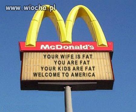McDonald's w USA a w Polsce