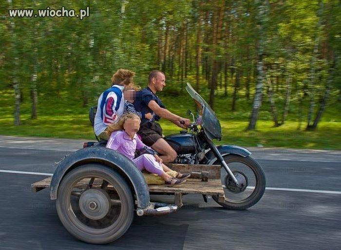 Rodzinny wypad - szybko i bezpiecznie.
