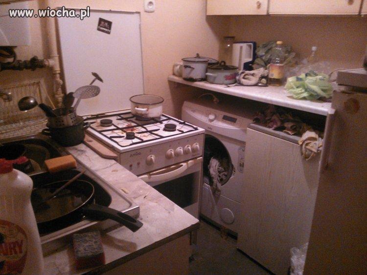 Czysta kuchnia...