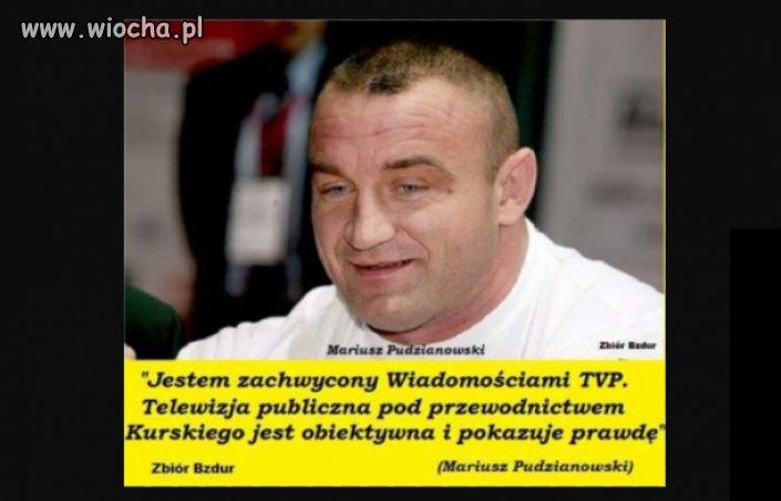 Czy ktoś kojarzy w której walce MMA Pudzian dostał