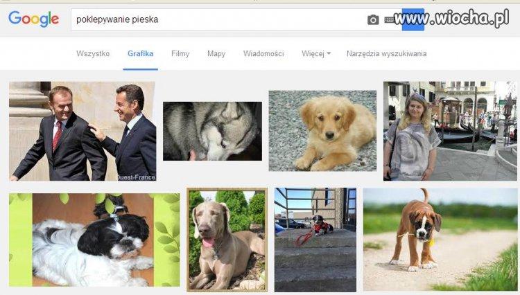 """Wpisz w google """"poklepywanie pieska"""""""