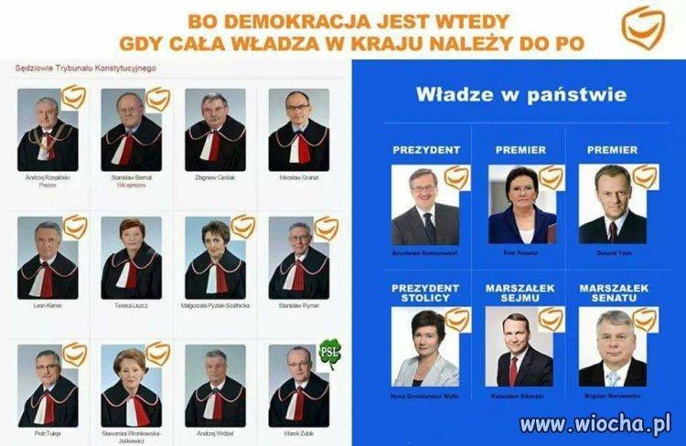 Do 25 pa�dziernika by�a demokracja, teraz dyktatura