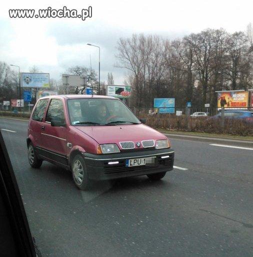Najnowszy model BMW...