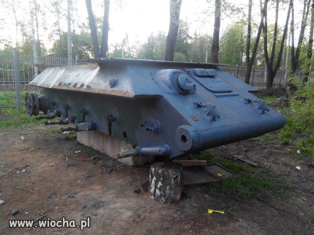 T-34 po spotkaniu ze złomiarzami
