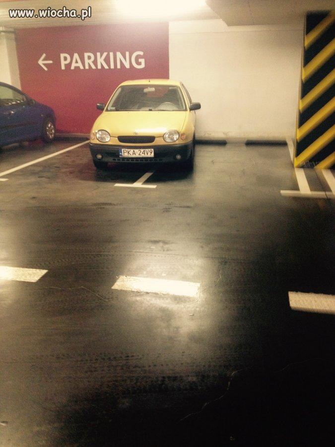 Mistrz parkowania Galeria Tęcza Kalisz