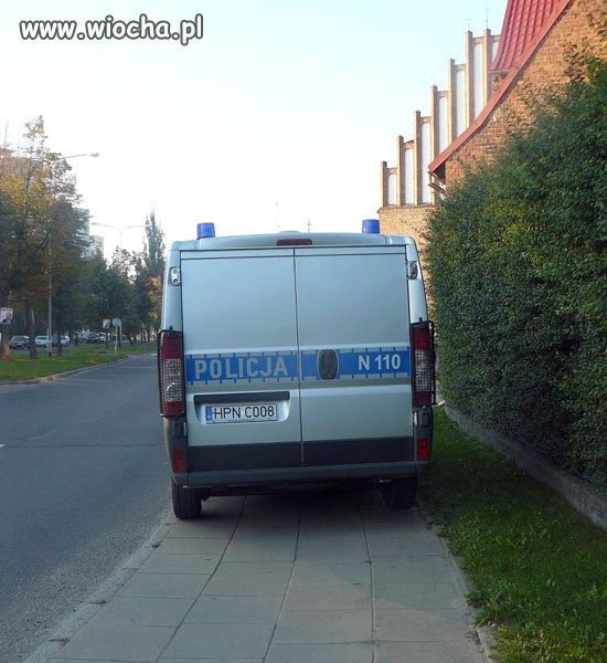 Bo policji wszystko wolno...
