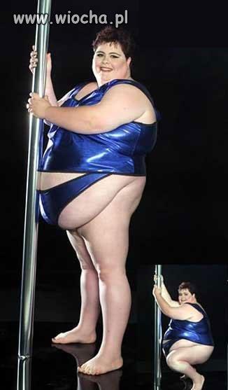 Striptizerka.