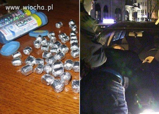 Aresztowano handlarza kokainą-to Cezary P.