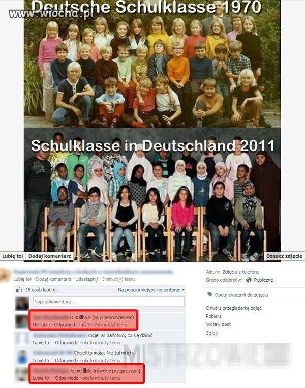 Niemiecka szkoła 1970 & 2011.
