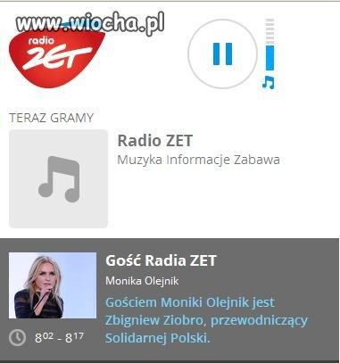 Gość radia ZET Monika Olejnik i Zbigniew Ziobro