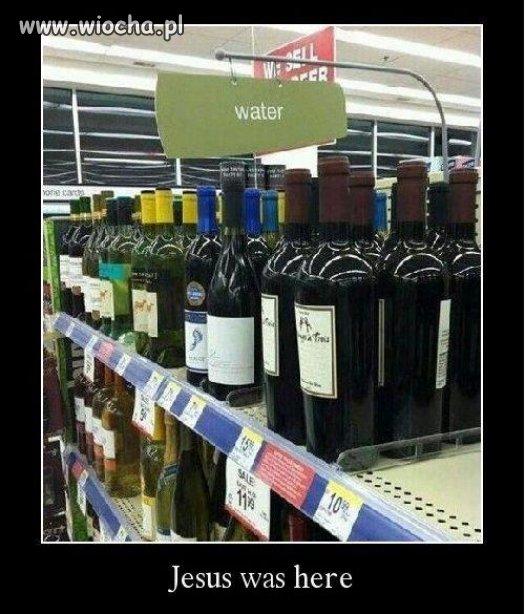 Woda zmieniła się w wino