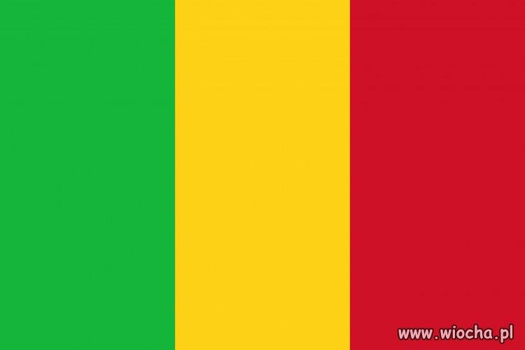 Tak wygląda flaga Mali