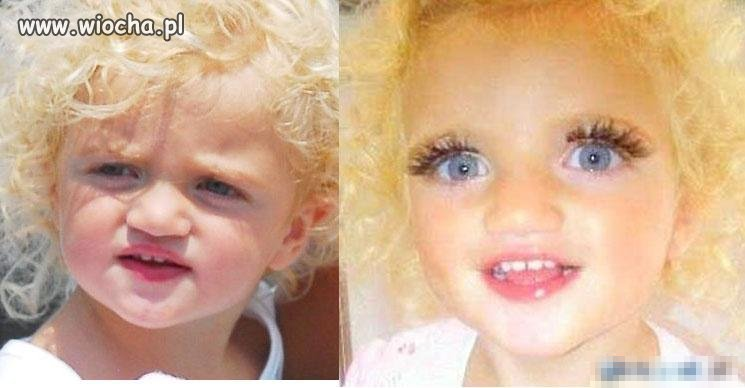 Dziewczynka ma 4 lata!