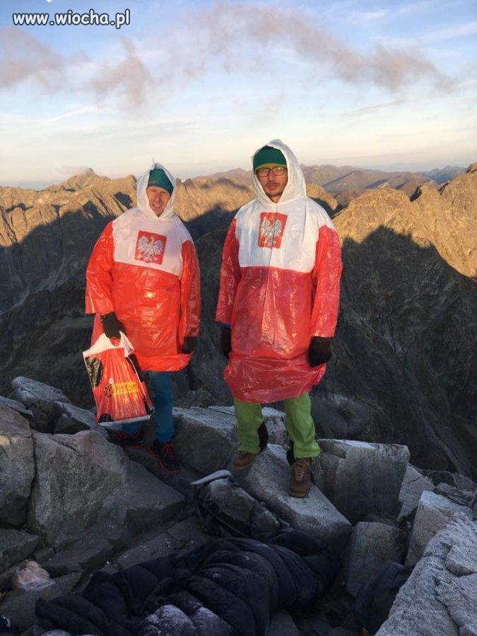 Patrioci w górach