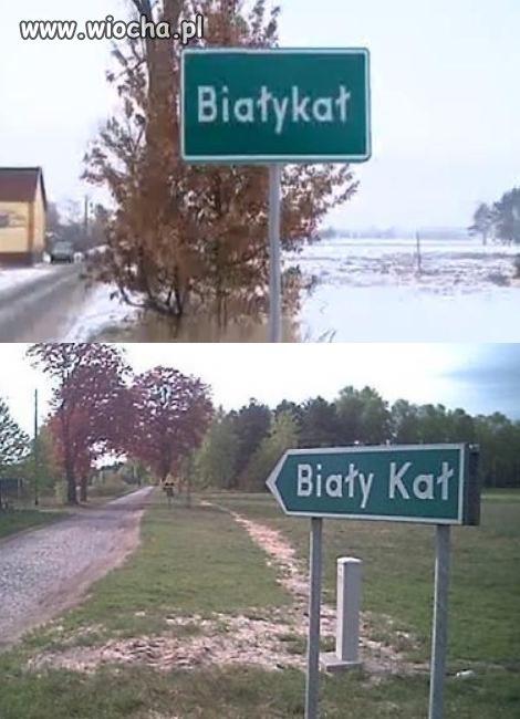 Białykał - do 1999 Biały Kał - wieś wielkopolska