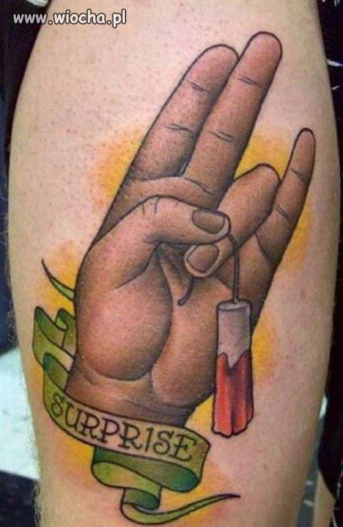 Z serii - tatuaże z życia wzięte...