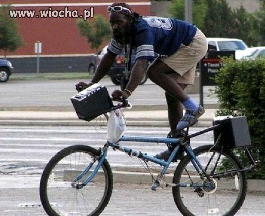 A na rowerze jeżdżę tak