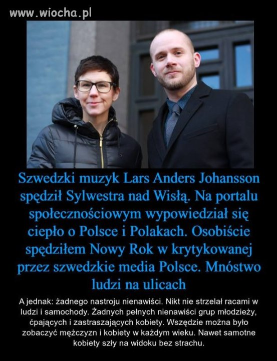Taka ksenofobiczna Polska..
