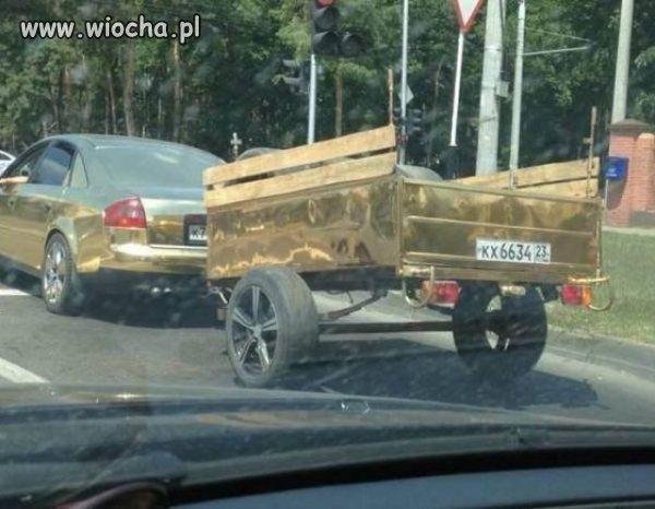 U ruskich jak zwykle na bogato.