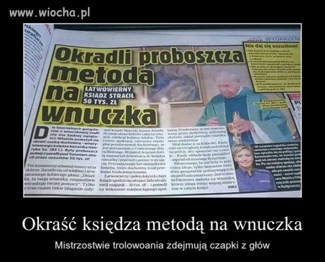 Typowy polski ksiądz