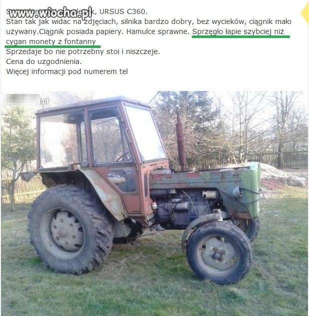Cygański traktor