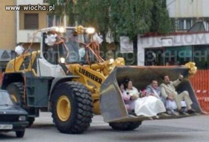 Pojazd weselny