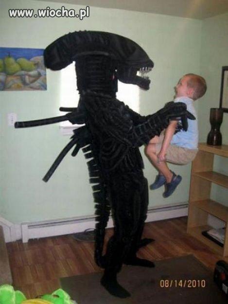 Jak trzeba być głupim aby przerazić dziecko