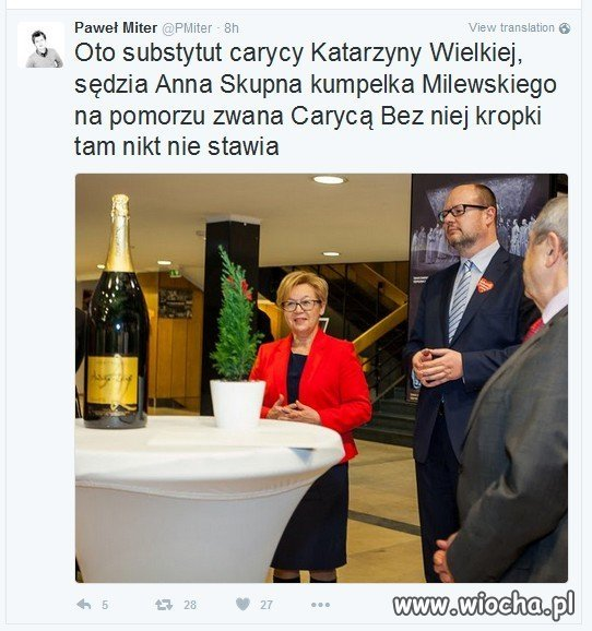 Dziennikarz ujawnia kim jest Cesarzowa